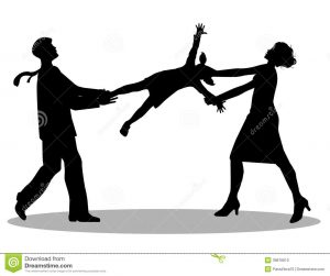 symbolic-illustration-custody-battle-man-woman-silhouette-39876810